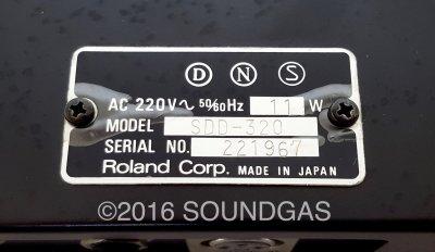 ROLAND DIMENSION D SDD-320 RACK CHORUS