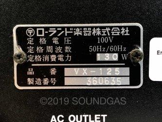 Roland VX-125 Stereo Mixer