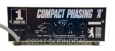Schulte Compact Phasing 'A' with custom control pedal