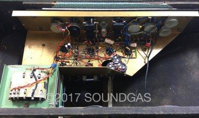 Watkins V-Front Dominator – black plexi panel