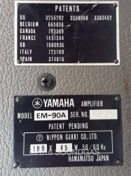 Yamaha EM-90A