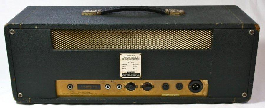 Dating vintage marshall amps
