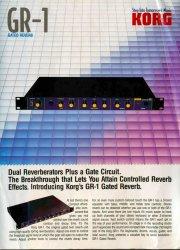Korg GR-1 Gated Reverb