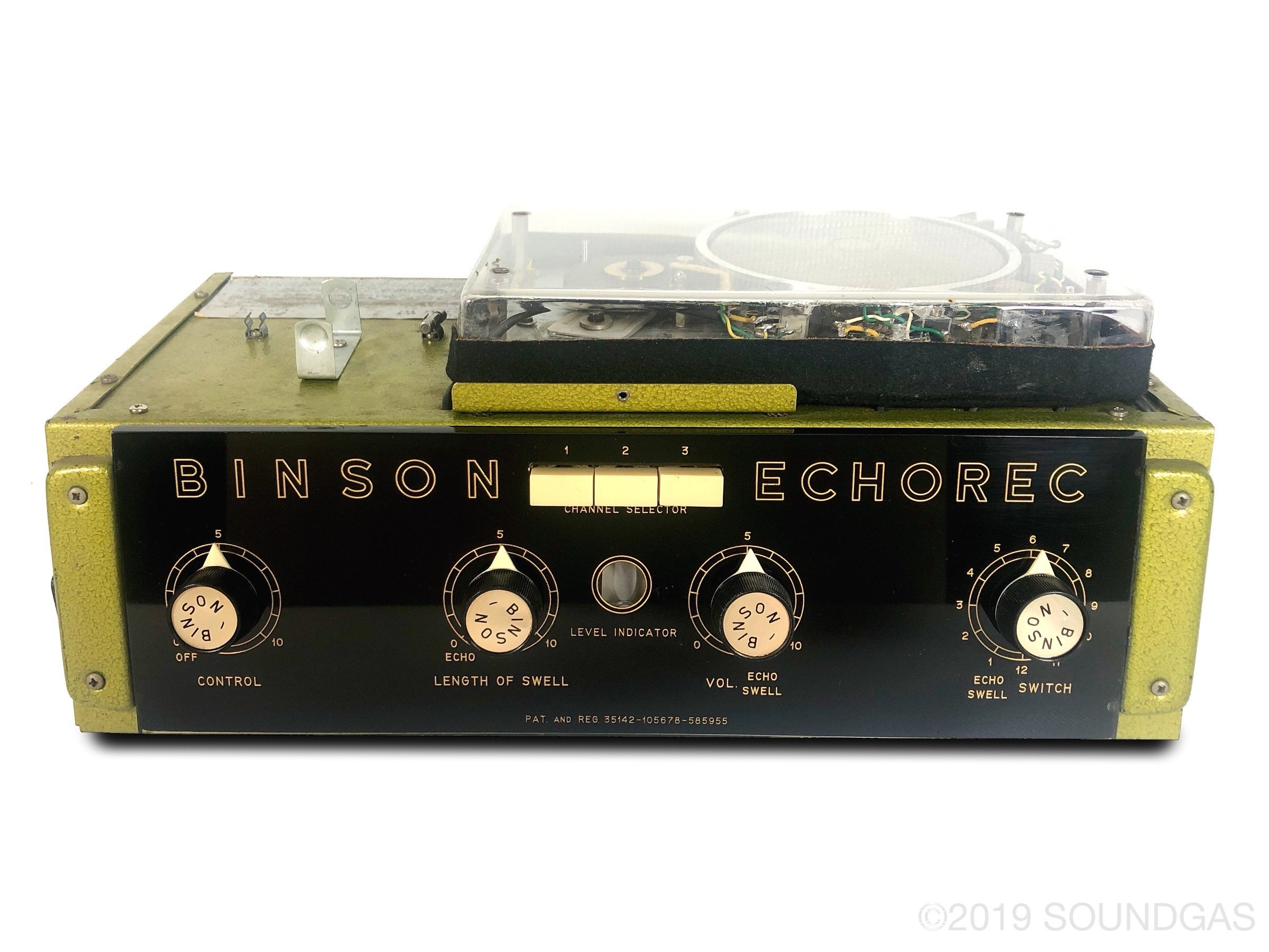 Binson Echorec B2 (Baby 2) Varispeed + Wet-Only Output - Pre-Order