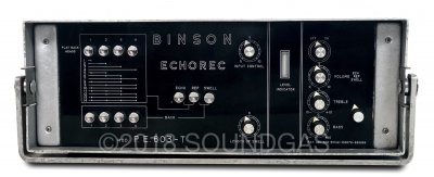 Binson Echorec P.E.603-T Varispeed