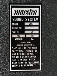 Maestro Rhythm King MRK-4