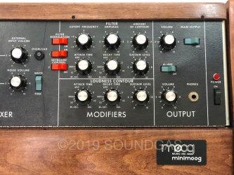 Moog c1974 Minimoog Model D