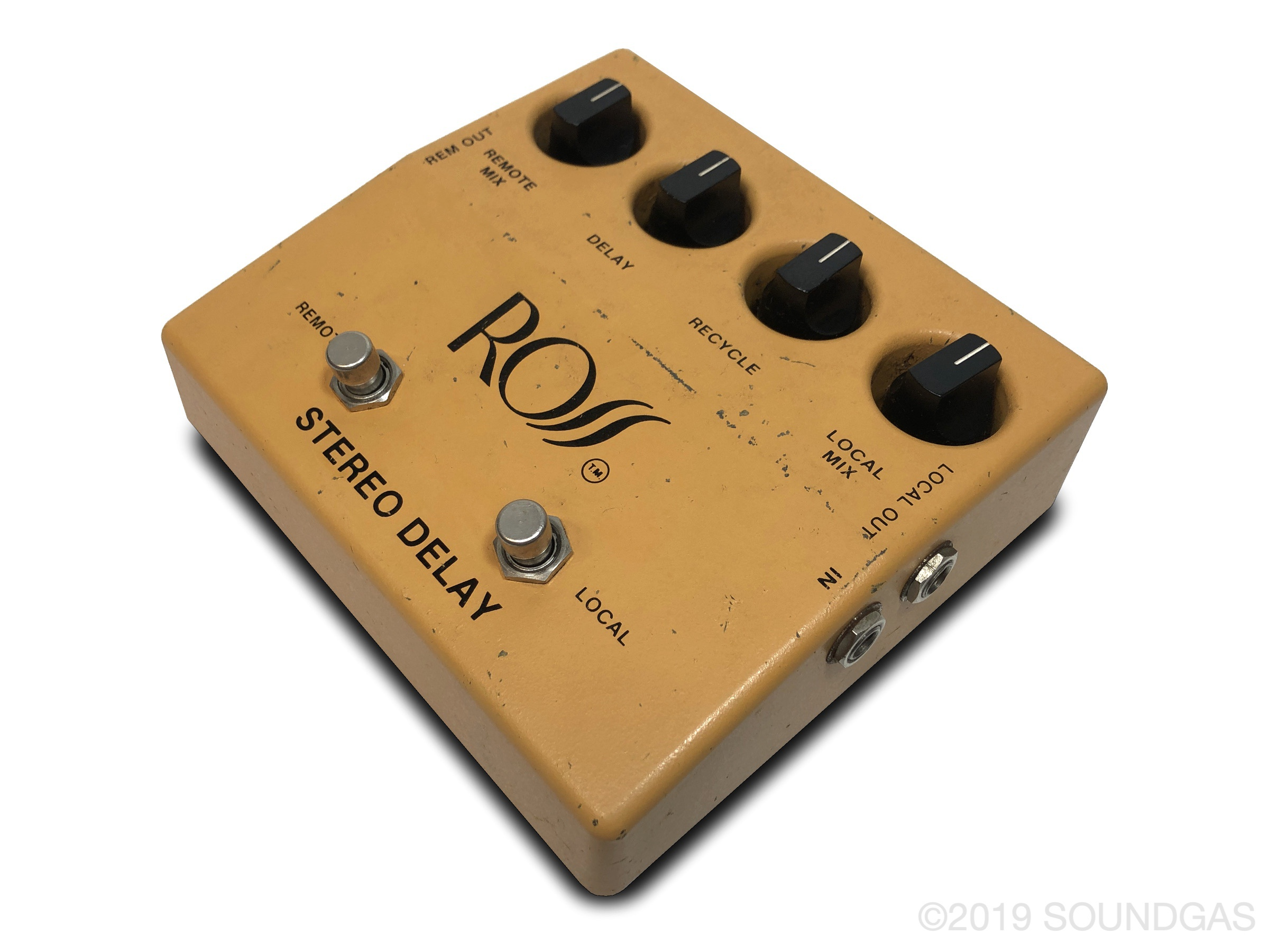 Ross Stereo Delay RS-80