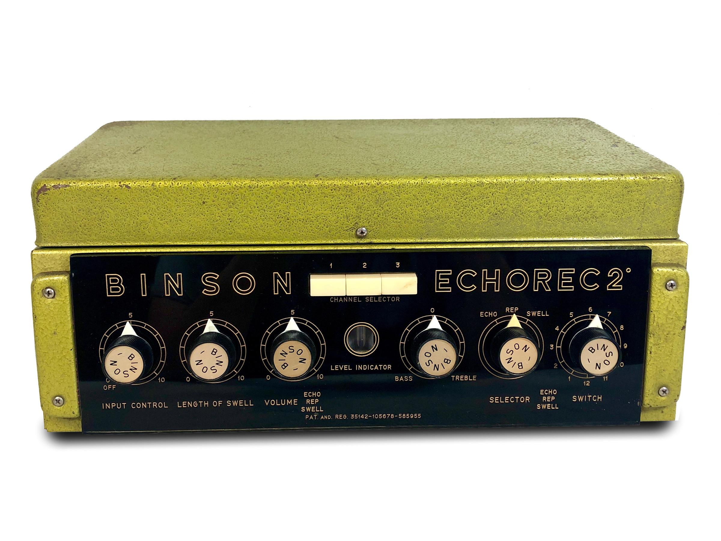 Binson Echorec 2º T7E Super-Slow Varispeed (Pre-Order)