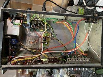 Binson Echorec PE-603 T6 internal service rewire Soundgas