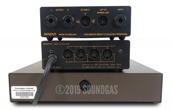 Bandive Accessit Stereo Spring Reverb