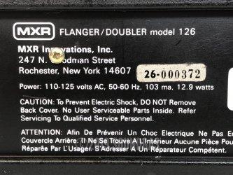 MXR Flanger/Doubler 126