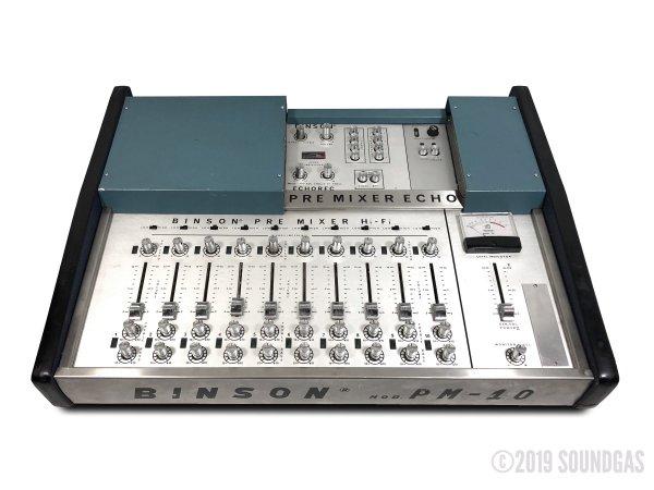 Binson-PM-10-Pre-Mixer-Echo-Cover-2