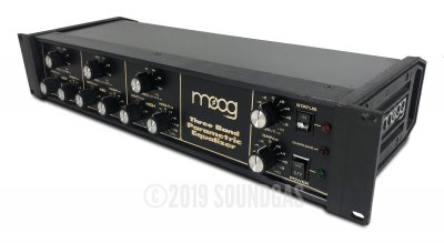 Moog Three Band Parametric Equalizer