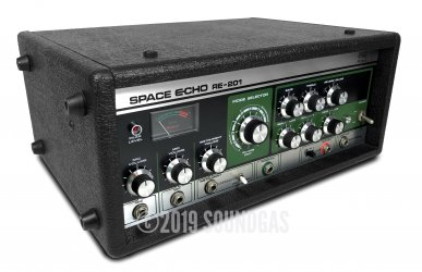Roland RE-201 Space Echo – Near Mint + Footswitch