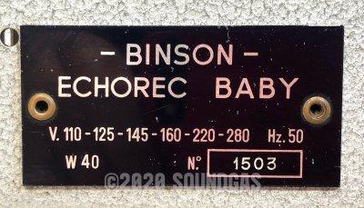 Binson Echorec Baby