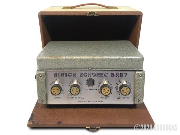 Binson-Echorec-Baby-Disc-Echo-SN1503-Cover-2