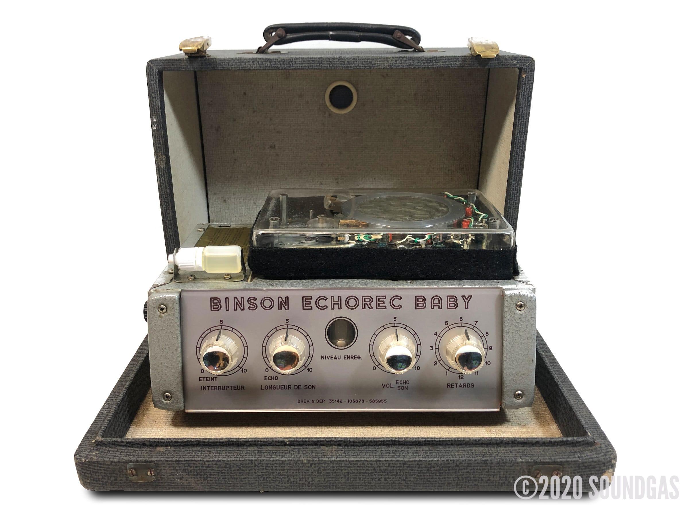Binson-Echorec-Baby-Disc-Echo-SN2169-Cover-2