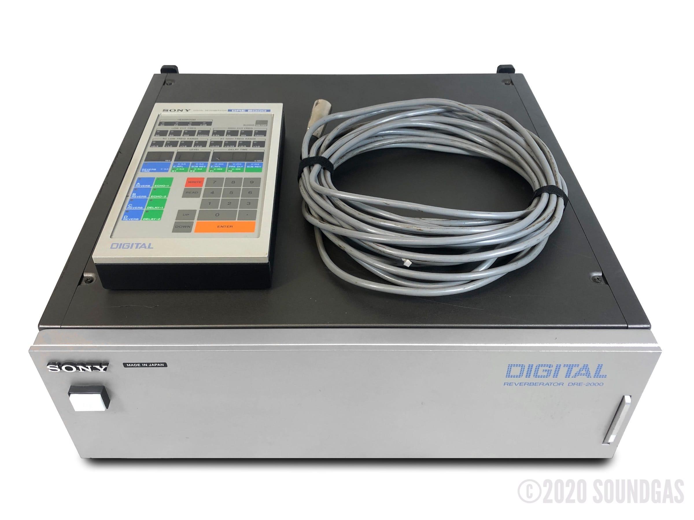 Sony-DRE-2000-Digitla-Reverberator-SN1211-Cover-2