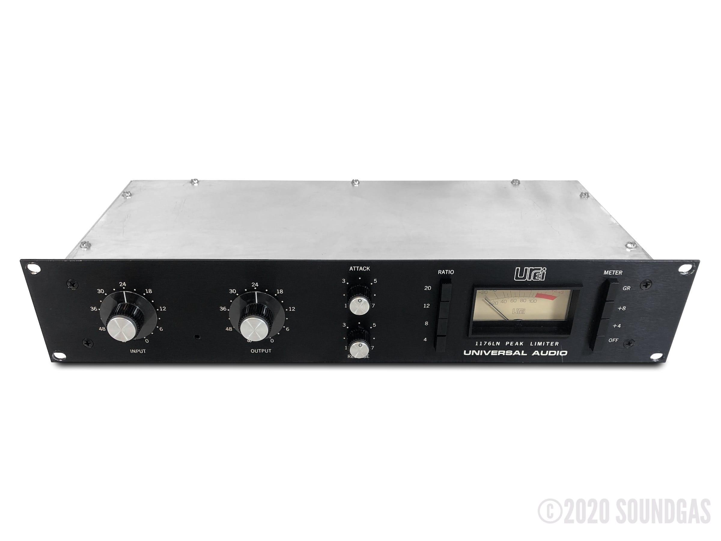 Urei-1176LN-Compressor-Limiter-SN4816-Cover-2