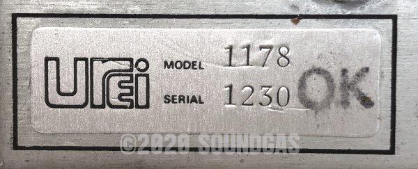 Urei Model 1178