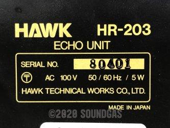 Hawk HR-203 – Spring Reverb