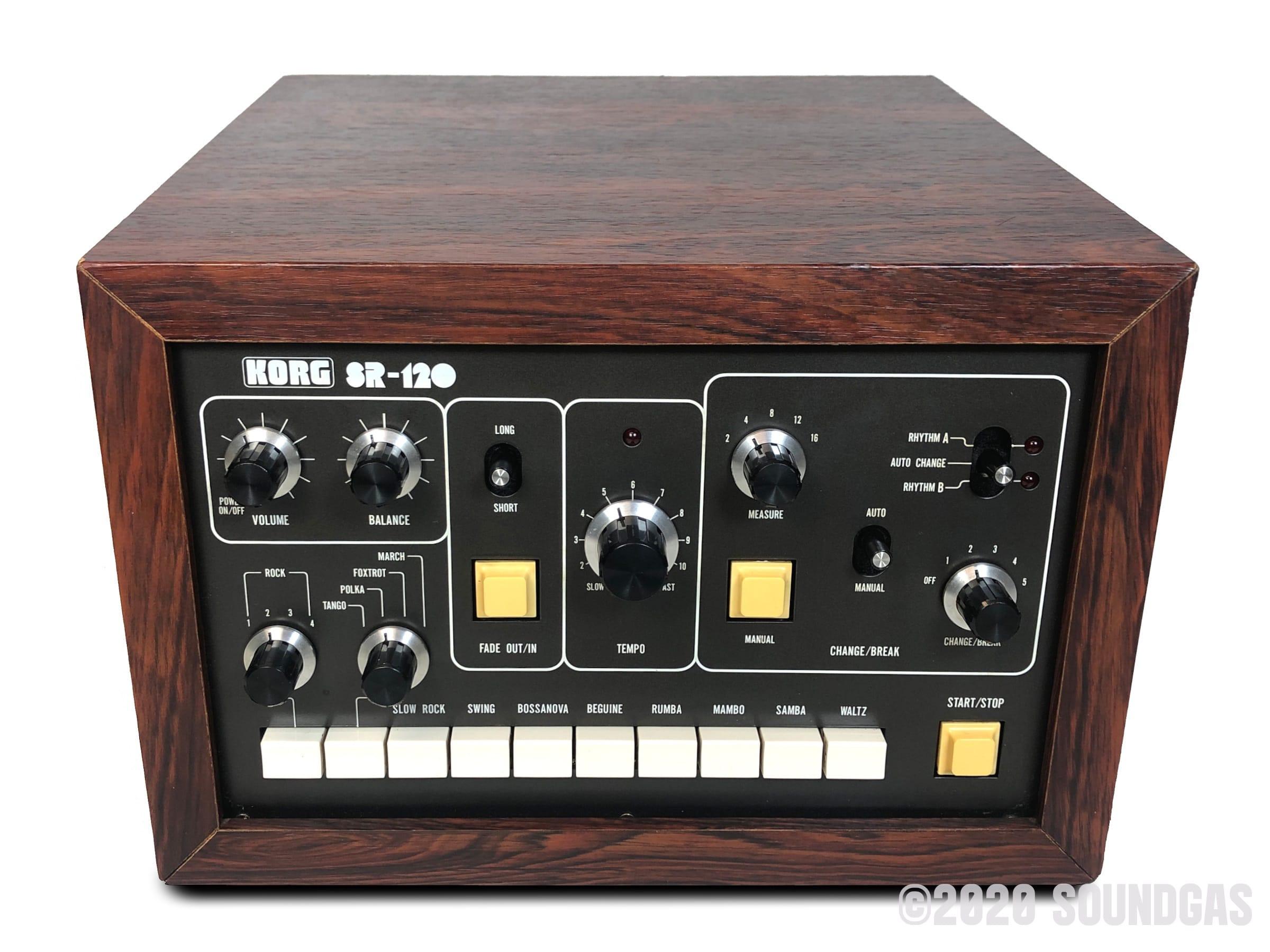 Korg-SR-120-Automatic-Rhythm-Instrument-Drum-Machine-SN781329-Cover-2