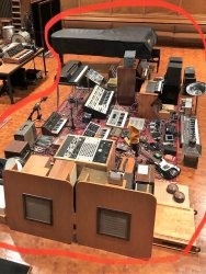Nils Frahm Funkhaus Saal 3 Equipment Sale