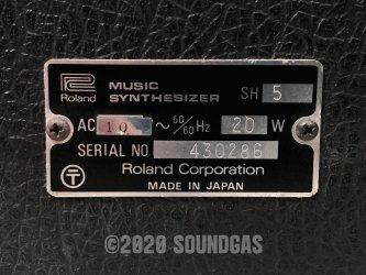 Roland SH-5 Synthesizer
