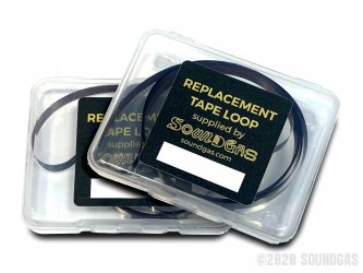 Soundgas Roland Space & Chorus Echo Replacement Tape Loops (RT-1L) x2