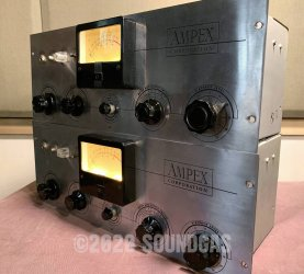 Ampex 351 Preamp Pair