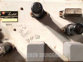 Fairchild 627 EQ