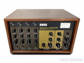 Korg-EM-570-Echo-Mixer-SN110351-Cover-2
