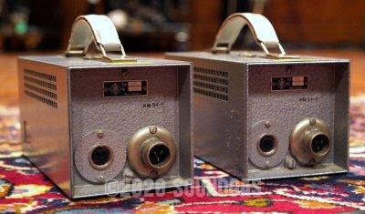 Matched Pair Neumann KM54 Mics