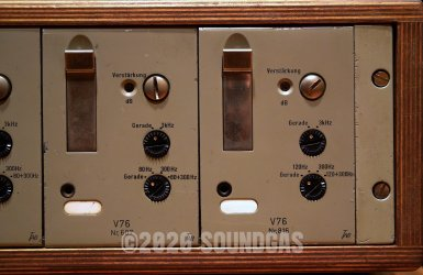 Telefunken Rack: U73B x2 and V76M x3