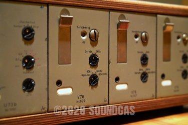 Telefunken Rack: U73B x2 and V76M x3