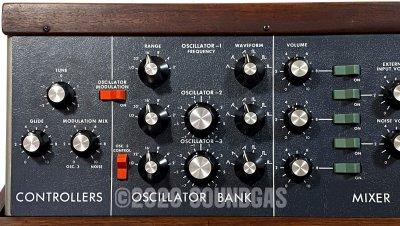 1973 Moog Minimoog Model D