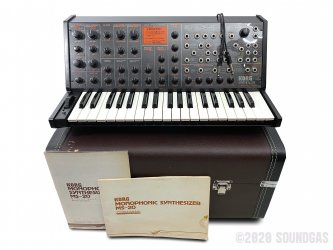 Korg-MS-20-Synthesizer-SN148015-Cover-2