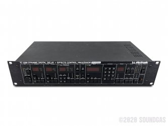 TC-Electronic-220-Dynamic-Digital-Delay-Effects-Control-Processor-SN513136-Cover-2