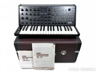 Korg-MS-20-Synthesizer-In-Case-SN146543-Cover-2