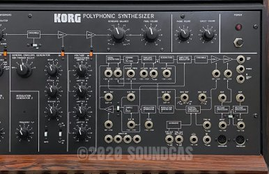 Korg PS-3100 Polyphonic Synthesizer with Midi