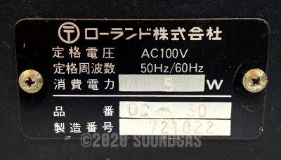 Roland DC-30 Chorus Echo (Boss DM-300)