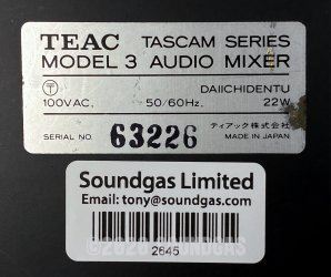Teac Tascam Series Model 3