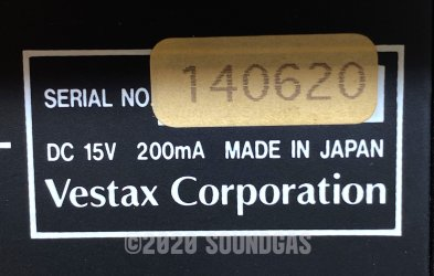 Vestax FDG-1 Frequency Dividing Gear
