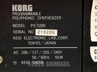 Korg PS-3200 Polyphonic Synthesizer
