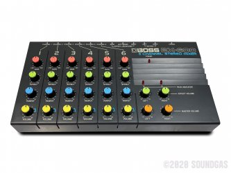 Boss-BX-600-6-Channel-Stereo-Mixer-SN791066-Cover-2