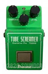 Ibanez TS808 Tube Screamer JRC4558D (TS-808)