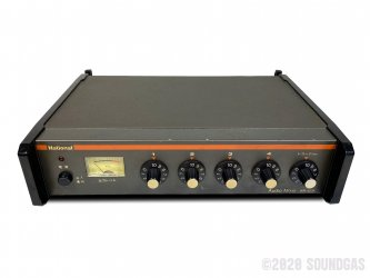 National-WR-420A-Audio-Mixer-SN2X0351-Cover-2