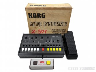 Korg-X-911-Guitar-Synthesizer-SN270142-Cover-2