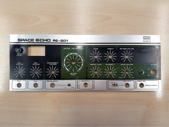 RE-201 Space Echo Front Panel